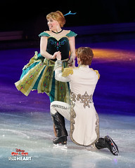 Princess Anna & Prince Hans - Will You Marry Me? (DDB Photography) Tags: disney disneyonice ice waltdisney disneyphoto disneypictures disneycharacters followyourheart mickey mickeymouse minnie minniemouse mouse feldentertainment donaldduck duck goofy figure skate figureskate show iceshow prince princess princesses castle animation disneymovie movie animatedmovie fairytale story anna elsa elsathesnowqueen olaf kristoff sven hans princehans arendelle frozen loveisanopendoor letitgo