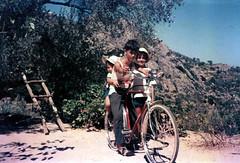 Ποδήλατο - Bicycle, 1968 (Νίκος Αλμπανόπουλος) Tags: ικαρία ikaria bicycle ποδήλατο kids sixties oldphoto