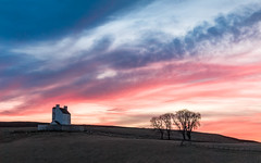 Made it - Just About.....! (Stoates-Findhorn) Tags: 2017 aberdeenshire castle clouds cockbridge corgarff grampian scotland sunset trees unitedkingdom olympusflickraward ngc