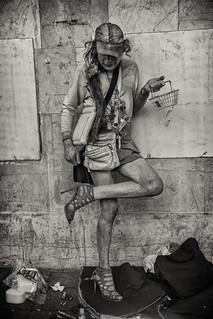 street portrait of debra