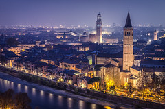 Verona. (PabloLopezPhotography.com) Tags: verona italy europe city adige river veneto italia capital region municipality northeast shakespeare play plays romeo juliet gentlemen taming shrew important importance pablo lopez pablolopez historical history building buildings tower church cathedral unesco world heritage site worldheritagesite ancient roman monument monuments early middle ages medieval edifice edifices earthquake 1117 massive romanesque rebuilding carolingian period versus description era