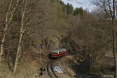 Harzer Schmalspurbahnen 187 013 zwischen Drahtzug und Alexisbad, 31.03.2017 by Tramfan2011 -