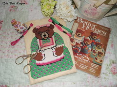 1979 Mama Bear Needlepoint (The doll keeper) Tags: 1979 needlepoint bear