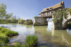 Vieux-Moulin of Vernon [FR] (ta92310) Tags: 2017 spring normandy normandie europe france travel 27 eure vernon giverny monet old mill moulin vieuxmoulin landscape architecture timber framing maison colombage seine