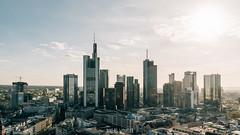 Frankfurt Skyline (Niklas W.) Tags: cityscape deutschland frankfurt gegenlicht germany maintower tower turm commerzbank skyline skyscraper clouds cloud landscape city bigcity outdoor hdr