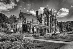 Tyntesfield House (Evoljo) Tags: tynterfield nationaltrust bristol somerset house mansion blackwhite sky grass flowers gothic nikoon d500
