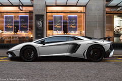 SuperVeloce (Nico K. Photography) Tags: lamborghini aventador lp7504 superveloce grey matte rain supercars switzerland nicokphotography zürich