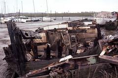 Mermaid (Apionid) Tags: mermaid thames sailing barge spritsail wreckage nikon f601m kodachrome64 werehere hereios