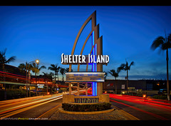 Shelter from the Storm (Sam Antonio Photography) Tags: shelterisland neon sign pointloma sandiego californiascenery urban landmark landscapesbeautiful night twilight dusk lighttrails traffic travel street city transportation road motion blur light architecture abstract transport blurred cityscape modern movement background automobile metropolitan dark asphalt evening drive cars dynamic perspective samantoniophotography bob dylan nobel prize neighborhood landscape vacation luxury