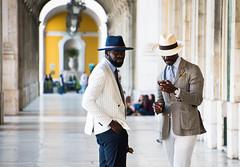 Men in hats (explore 2017-04-07) (Maria Eklind) Tags: vault hat people valv lisbon praçadocomércio street cityview men city streetview hats lissabon europe portugal streetsoflisbon lisboa commercesquare