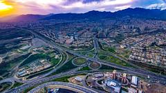 Burj-e Milad soft magenta edition, Tehran, 20170408 (G · RTM) Tags: burjemilad milad tower tehran sunset hdr