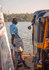 Ferry (chris watkins wales) Tags: india kerala backwaters ferry ride rickshaw monroe island kollam travel photography