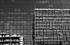 Reflections (elenista1) Tags: reflection bnw blackandwhite bw blackwhite nikon nikond90 architecture windows urban outdoors outside street streetphotography streetlife athens city