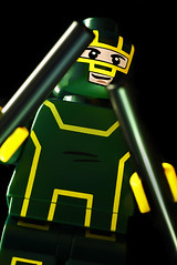 Kick Ass (elbreco) Tags: lego kickass kick ass nacm custom superhero condorman youaretalkingtome