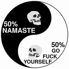 #life #skulls #yinyang #funny #ptsd #depression #bipolar #mentalhealth #coping #thefbomb (muchlove2016) Tags: life skulls yinyang funny ptsd depression bipolar mentalhealth coping thefbomb
