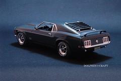 '70 Mustang BOSS 429 2 (DOLPHIN☆CRAFT) Tags: 1970 ford mustang boss 429 monogram フォード ムスタング マスタング モノグラム プラモデル