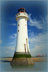 New Brighton,Wirral (Perch Rock Lighthouse) 18th April 2017 (Cassini2008) Tags: wirral perchrocklighthouse newbrighton rivermersey lighthouse