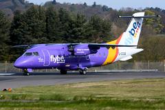 G-CCGS Dornier Do328-100 EGPH 15-04-17 (MarkP51) Tags: gccgs dornier do328100 do328 flybe be bee loganair edinburgh airport edi egph scotland aviation airliner aircraft airplane plane image markp51 nikon d7100 aviationphotography
