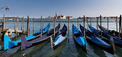 The obligatory Gondola shot - Venice (irelaia) Tags: water stmarkssquare gondola venice