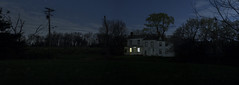 365-105 (• estatik •) Tags: 365105 365 105 april152017 arpl sat saturday night long exposure panorama house dark nj new jersey hunterdon county east amwell rocktown