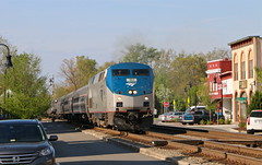 Ashland, Virginia (UW1983) Tags: trains railroads amtrak northeastregional 195 passengertrains streetrunning ashland virginia