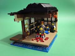 02 Dojo (PigletCiamek) Tags: lego dojo martial arts