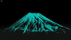 Mount Fuji (Greg Tokyo) Tags: 2017 mountfuji fuji japan mountain monotone bw