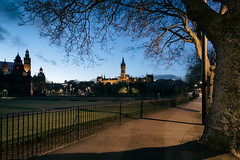 Kelvingrove (D Cation) Tags: scotland glasgow kelvingrove university avenue night dusk twilight gloaming