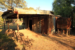 Seaton's Farm Homestead (Darren Schiller) Tags: farm history abandoned australia architecture building corrugatediron derelict disused decaying deserted dilapidated decay empty farming farmhouse grenfell heritage iron nationalpark newsouthwales old rural rustic rusty tin verandah weddinmountain