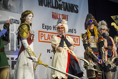 Group (lucasecurd) Tags: zelda link cosplay convention event birmingham game nintendo navi paya purah insomnia hilda wolf