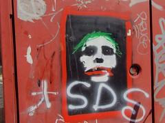 jokersssss (fabri38) Tags: graffiti fujifinepix cast actor bologna red creativevann
