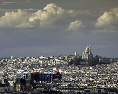 Paris (Julianoz Photographies) Tags: paris france europe capitale rooftop sacrécoeur monument georgespompidou julianozphotographies cityscape city architecture 75