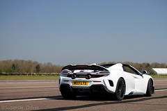 Whiteout (MJParker1804) Tags: mclaren 675lt spider convertible pearl white mso v8 twin turbo supercar limited edition