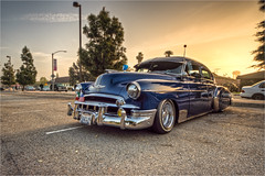 1949 chevy deluxe (pixel fixel) Tags: 1949 azaleafestival blue chevrolet deluxe ogclassics southgate tweedymile