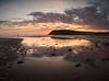St Bees sunset 1- (alf.branch) Tags: beach sea seaside seawaves seascape sunset stbees olympus olympusomdem5mkii zuiko ziuko918mmf4056ed irishsea westcumbria water cumbria clouds refelections reflection