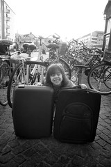 Travelling Girl, pt.3 (fonzi74/gbCrates) Tags: street bw white black blackwhite candid gb revolutionary sh sort christensen emil crates chr hvid fotografi frederik gade sorthvid revolutionr hyer gadefotografi fonzi74 gbcrates hyerchr