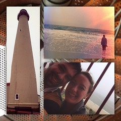 5/19/13 #lighthouse #capemay #ocean #weekendgetaway #marriedlife (sacornwell) Tags: lighthouse capemay ocean weekendgetaway marriedlife flickriosapp:filter=nofilter uploaded:by=flickrmobile