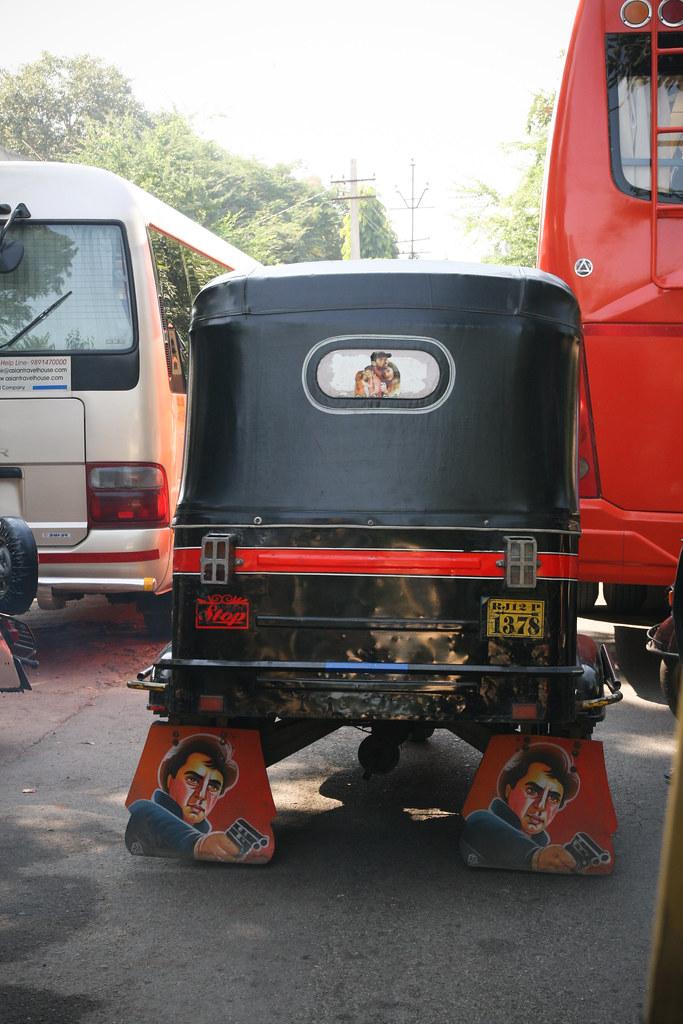 Bollywood rickshaw
