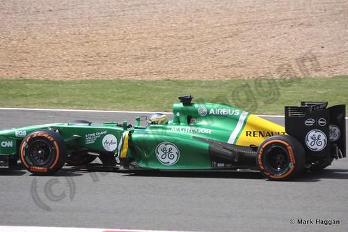 Charles Pic in the 2013 British Grand Prix