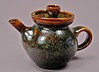 Teapot, System 3 Series (Scott A. Meredith) Tags: pottery teapot functional whiteslip sgraffito anagama tenmoku coveredjar shinoglaze copperglaze cone10reduction gasfiredreduction