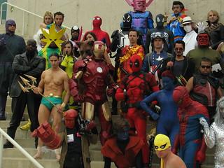 SDCC13 - Marvel Group Photo [I]
