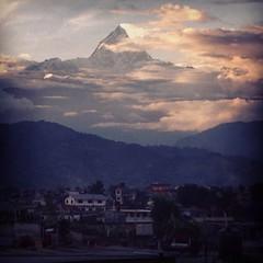 Machapuchare (citylove78) Tags: nepal sunset mountains nature beauty pokhara fishtail machapuchare