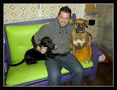 Luna, Yo y Jacky (Ezequiel Papania) Tags: perros animales mascotas perras