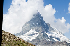 Zermatt & Matterhorn, Switzerland (Gabriel GM) Tags: mountains alps clouds landscape switzerland path trains hike zermatt matterhorn zermattmatterhorn switzerlandlandscape landscapeswitzerland hikepath