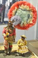 Oaxaca Mexico Pluma Dancers (Teyacapan) Tags: costumes art mexico oaxaca wax museo chiapas sculptures cera zapotec danzadelapluma