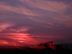hope of the eternal soul (natahaha) Tags: sunset paris photoshop chimneypots frommybalcony