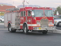 Barstow (CA) Fire Engine ME363 (Fire Trucks 4 Hire) Tags: fire engine kme apparatus barstow pumper me363