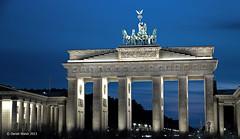 Brandenburg Gate (DanWal) Tags: berlin night brandenburggate bluemoment