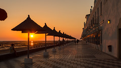 Hotel Playa de la Luz. Rota. Cdiz. RE,Auto-Topcor 25mm f/3.5 (miguelno) Tags: auto sunset costa luz atardecer hotel tokyo olympus re cdiz omd 25mm rota f35 topcon kogaku topcor em5