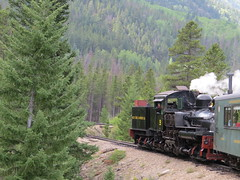 Huff and Puff (Patricia Henschen) Tags: railroad railway steam locomotive tender georgetownloop excursion narrowgauge steamlocomotive devilsgate georgetowncolorado guanellapassscenicbyway westsidelumberco